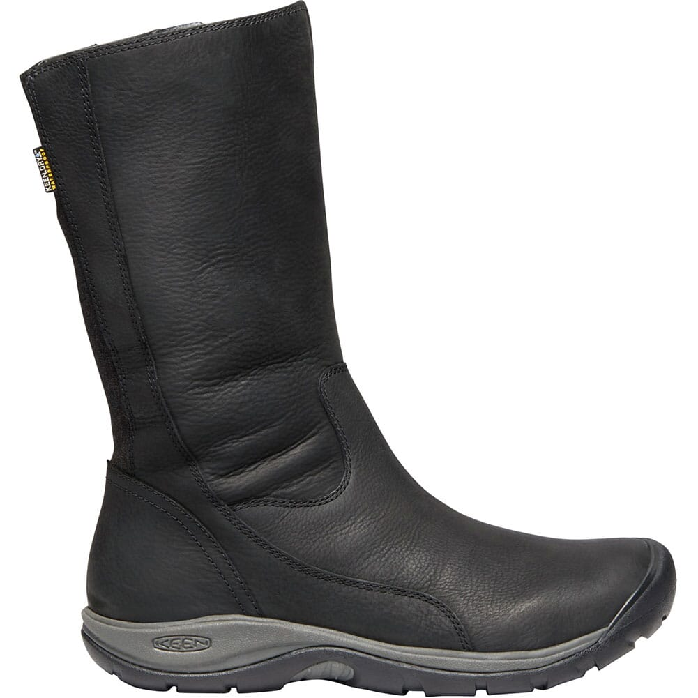 KEEN Women's Presidio II WP Casual Boots - Black/Magnet
