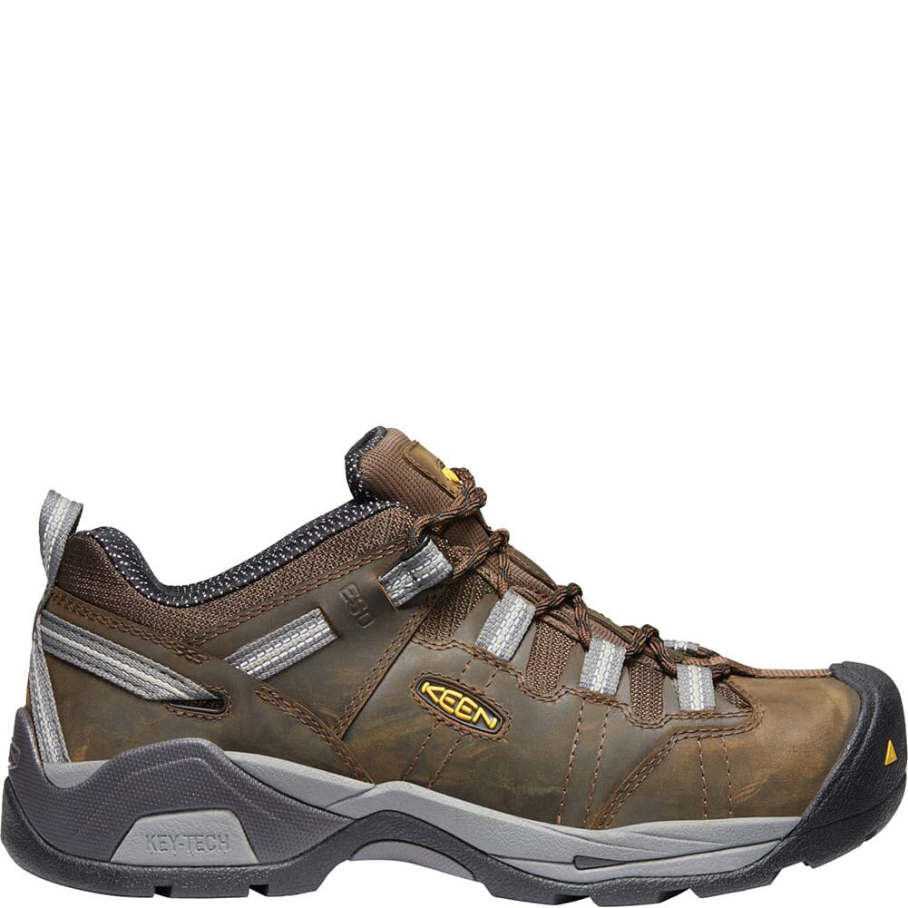 KEEN Men's Detroit XT ESD Safety Shoes - Cascade Brown/Gargoyle