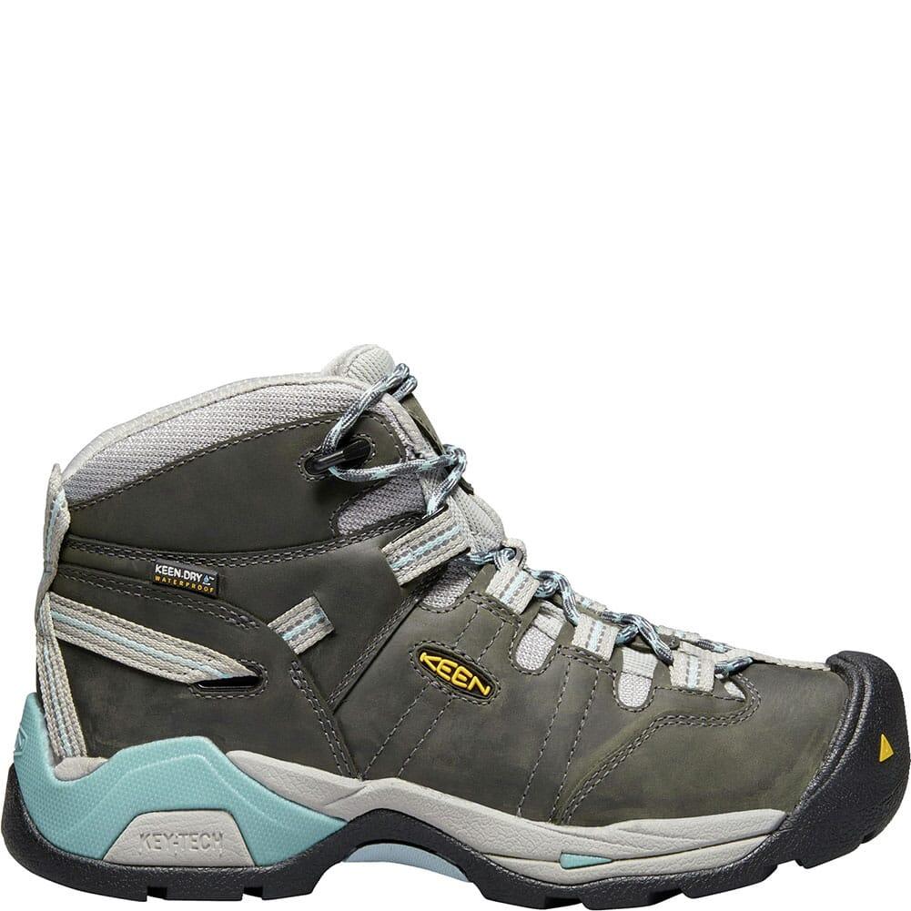 KEEN Women's Detroit XT WP Work Boots - Magnet/Sterling Blue