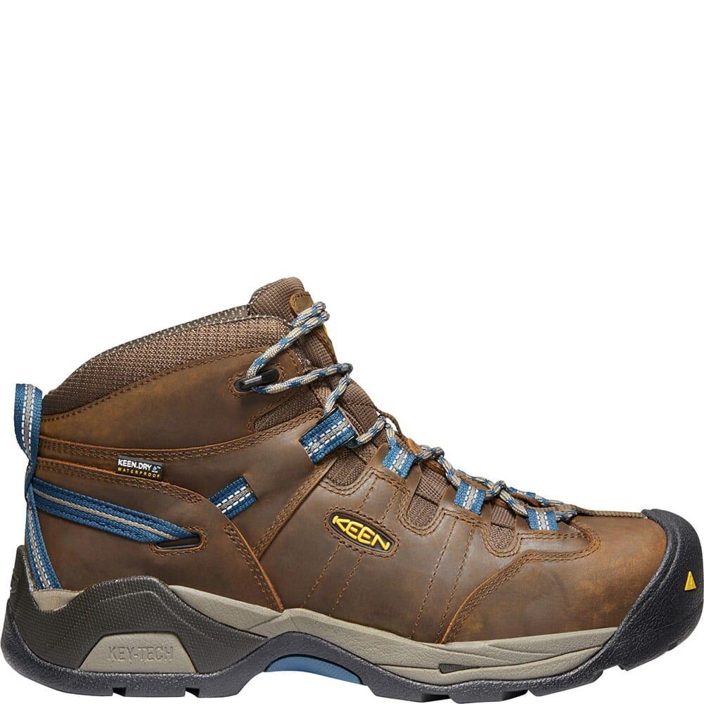 KEEN Men's Detroit XT WP Safety Boots - Brown/Orion Blue