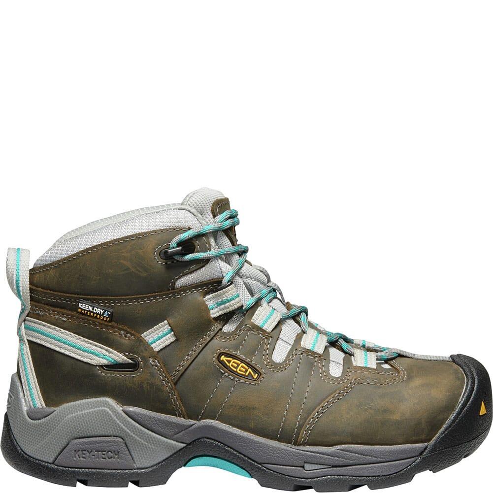 KEEN Utility Women's Detroit XT Safety Shoes - Gargoyle/Lake Blue