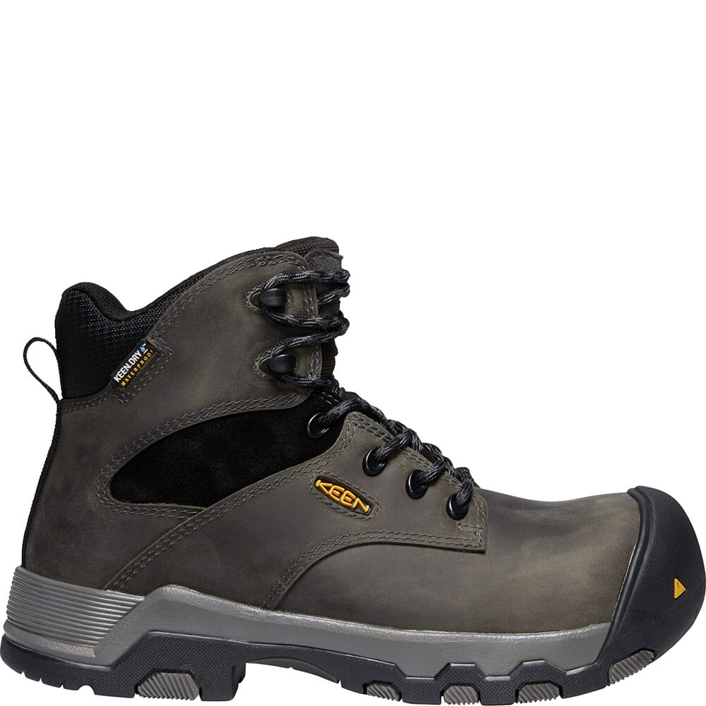 KEEN Women's Helena WP Safety Boots - Magnet/Black