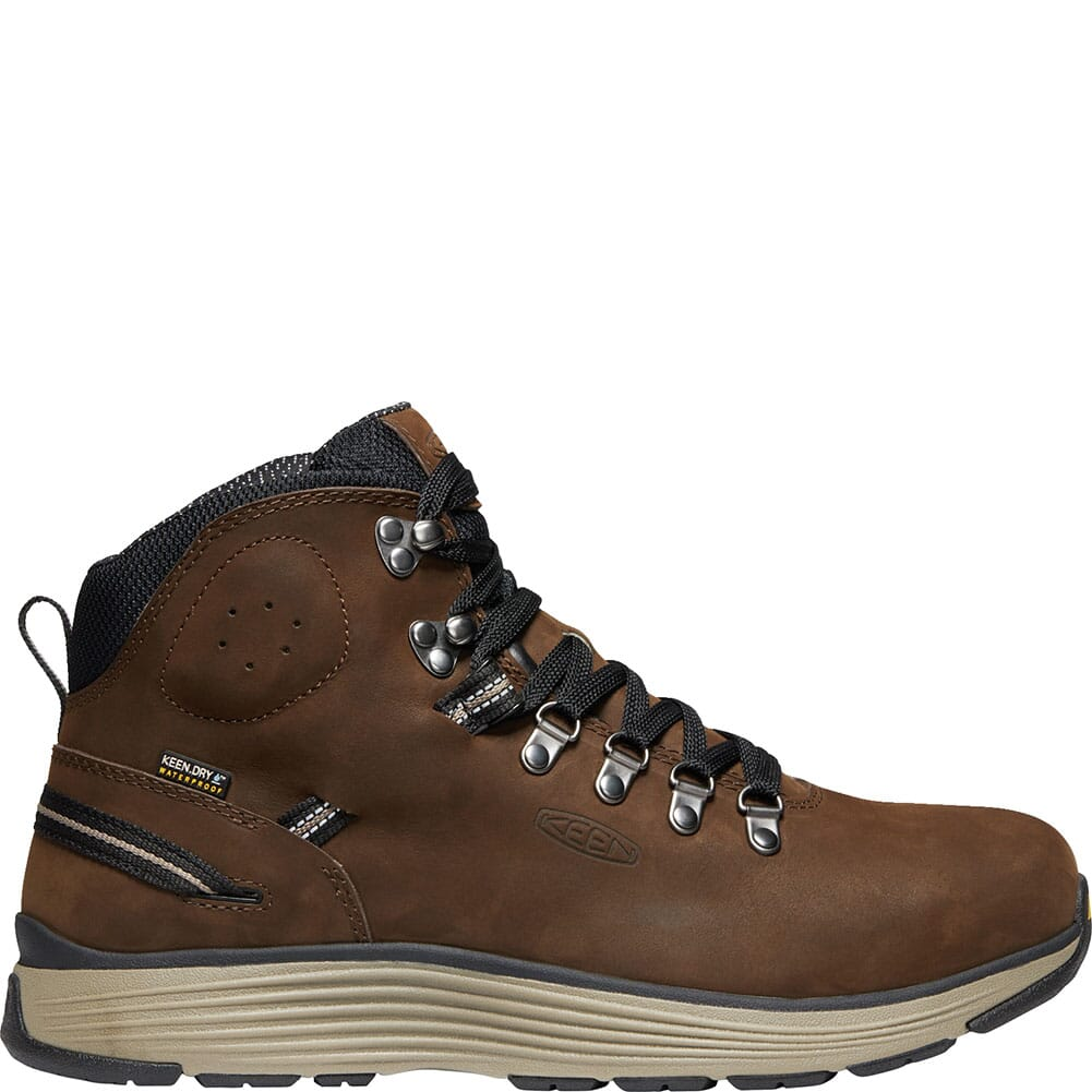 KEEN Men's Manchester WP Safety Boots - Cascade Brown/Brindle