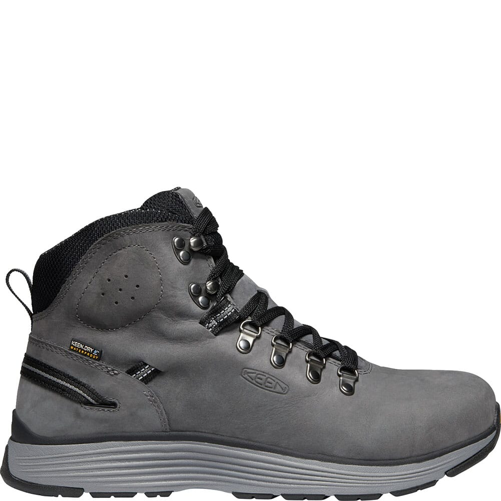 KEEN Men's Manchester WP Safety Boots - Forged Iron/Black