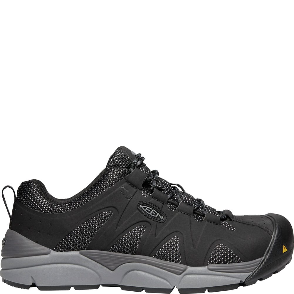 KEEN Men's San Antonio ESD Safety Shoes - Black