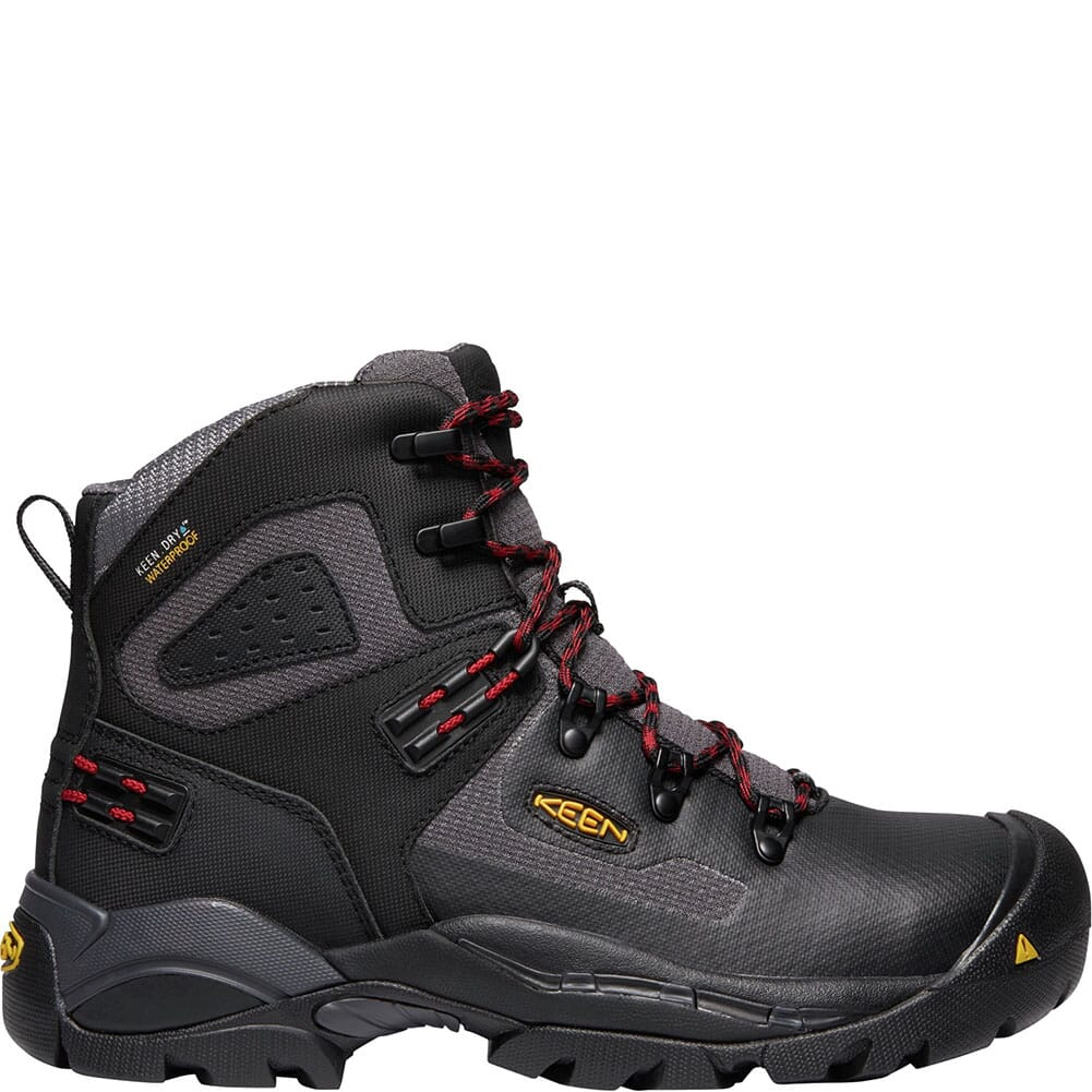 KEEN Men's St. Paul WP Safety Boots - Black