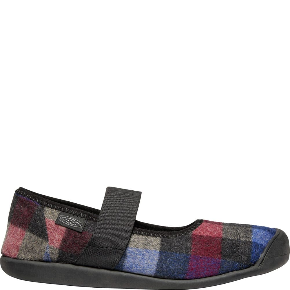 KEEN Women's Sienna Mary Jane Plaid Casual Shoes - Multi/Black