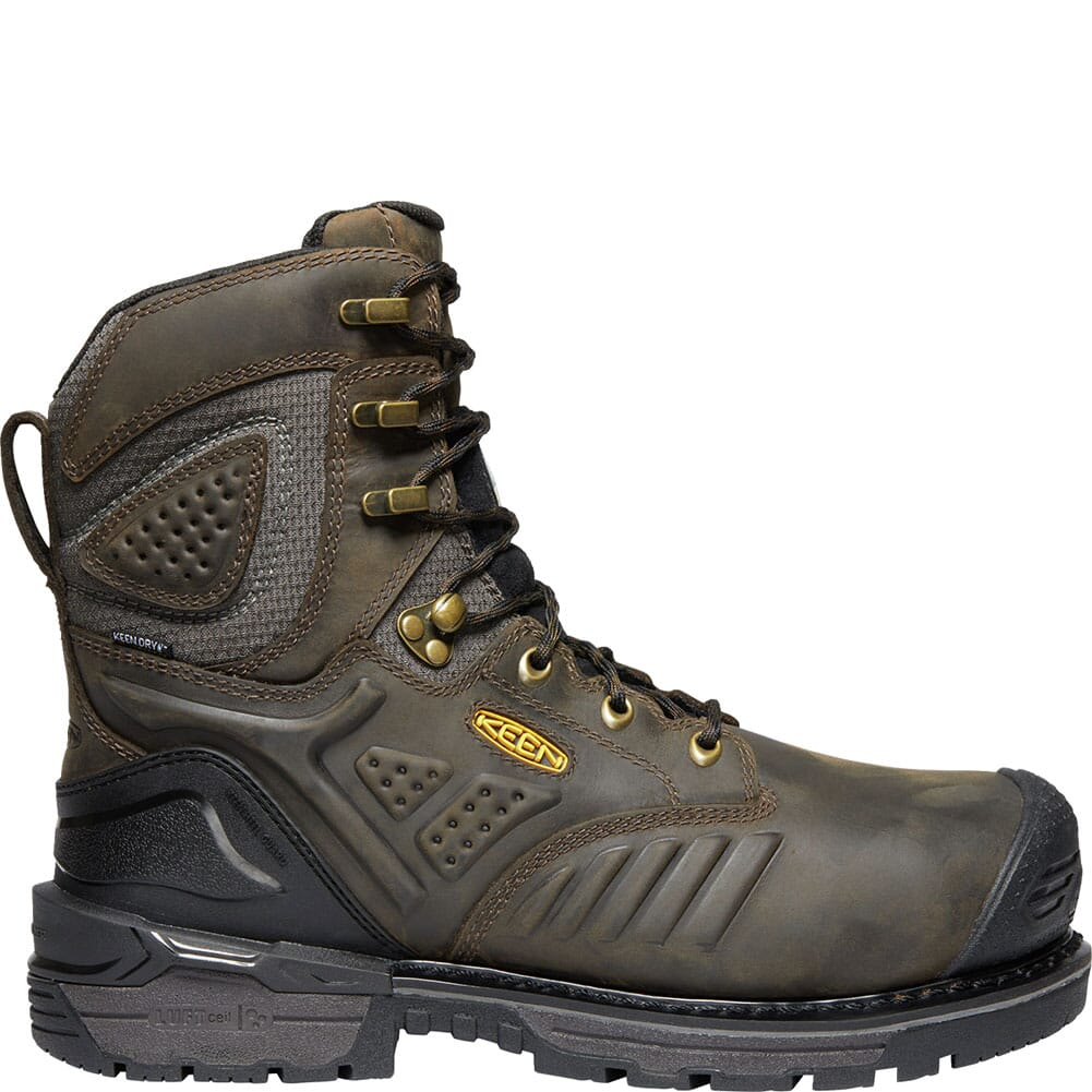 KEEN Men's CSA Philadelphia Safety Boots - Brown/Black