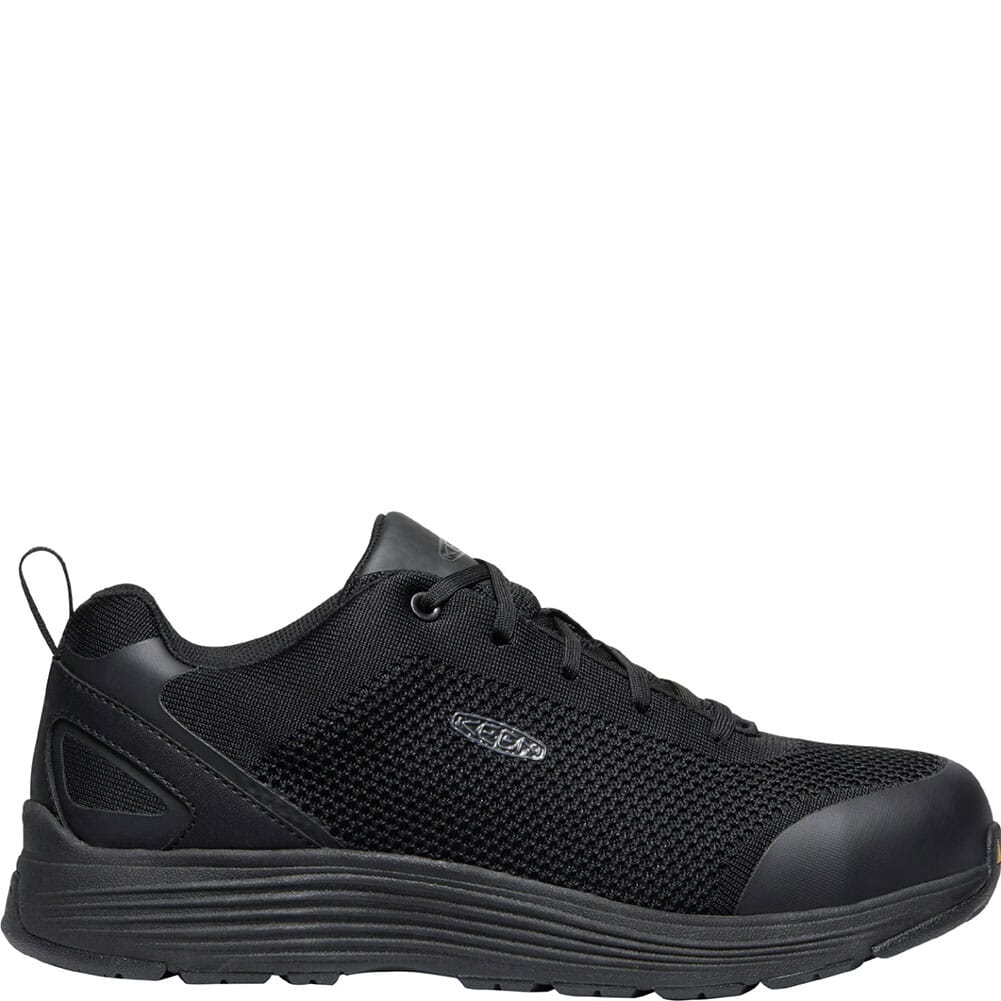 1022100 KEEN Utility Men's Sparta Safety Shoes - Black