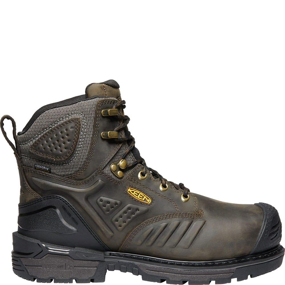 KEEN Men's Philadelphia Insulated Safety Boots - Brown/Black