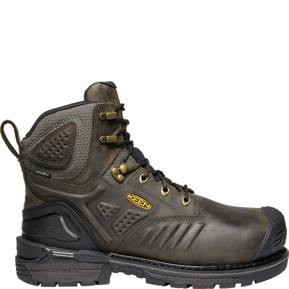 KEEN Men's Philadelphia WP Safety Boots - Brown/Black