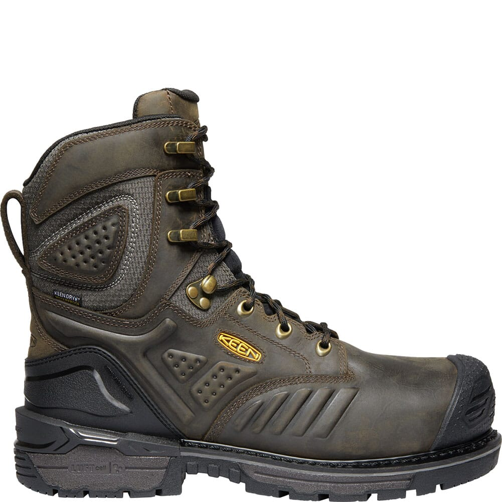 KEEN Men's Philadelphia WP Safety Boots - Brown/Black