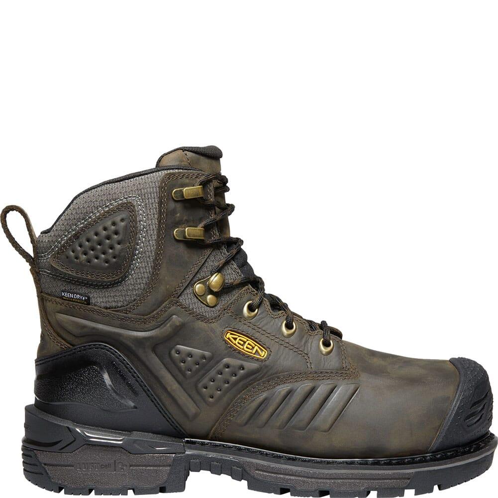 KEEN Men's Philadelphia Met WP Safety Boots - Brown/Black