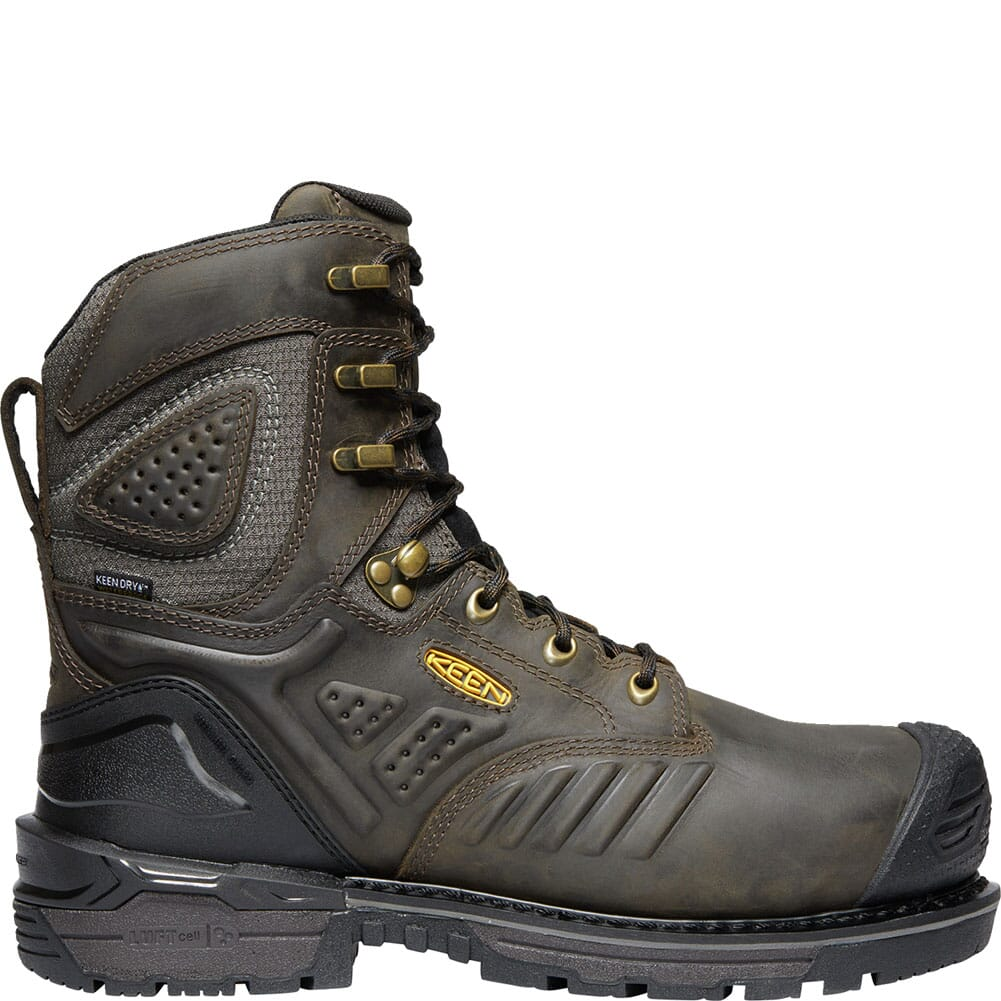 KEEN Men's CSA Philadelphia Met Safety Boots - Brown/Black