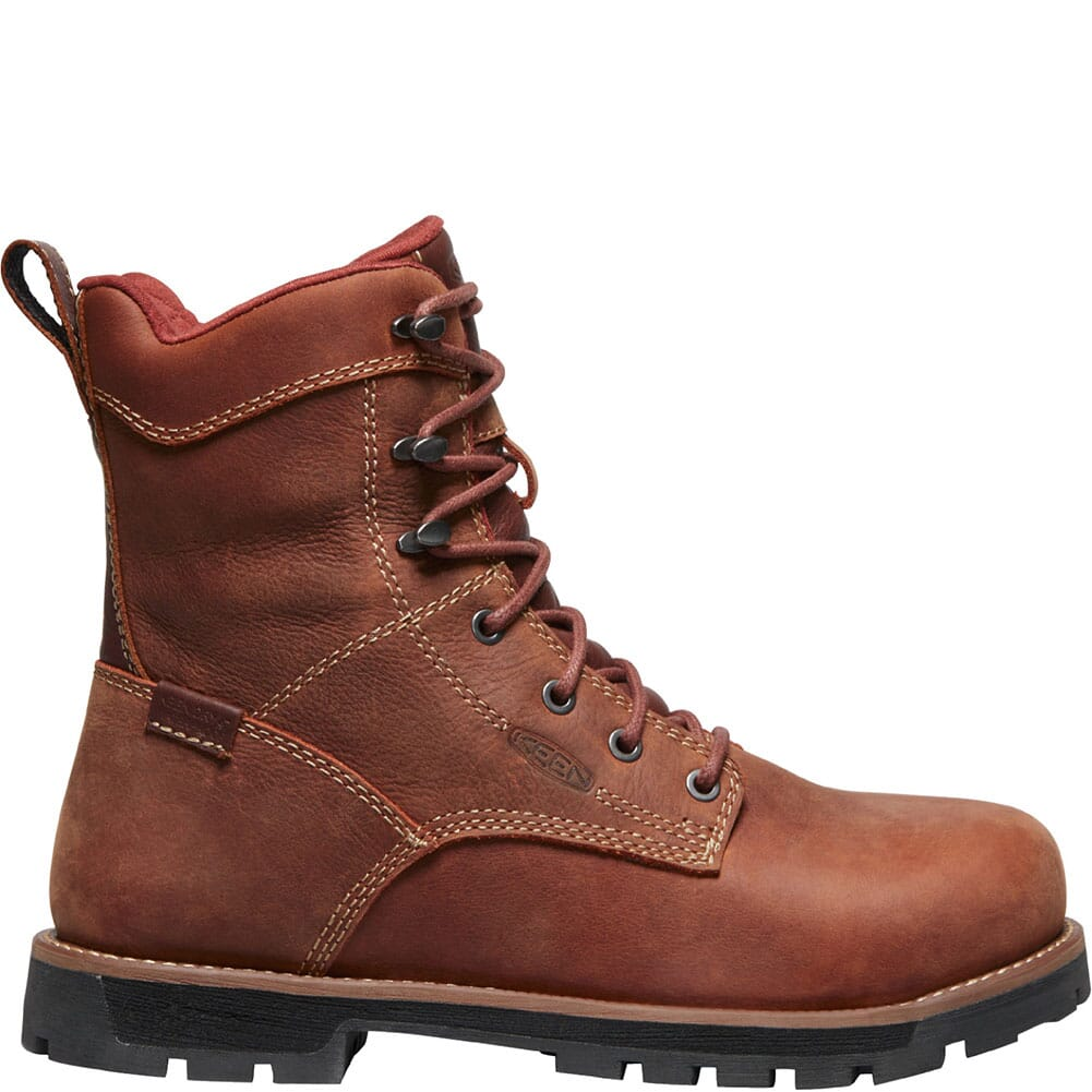 1022171 KEEN Utility Women's Seattle WP Safety Boots - Gingerbread/Black
