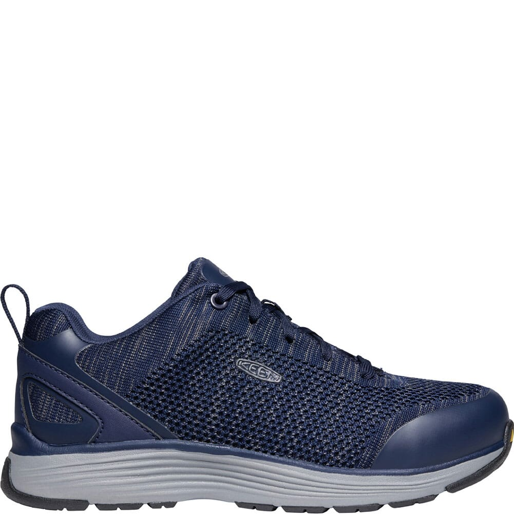 1023209 KEEN Utility Men's Sparta Safety Shoes - Mood Indigo/Steel Grey