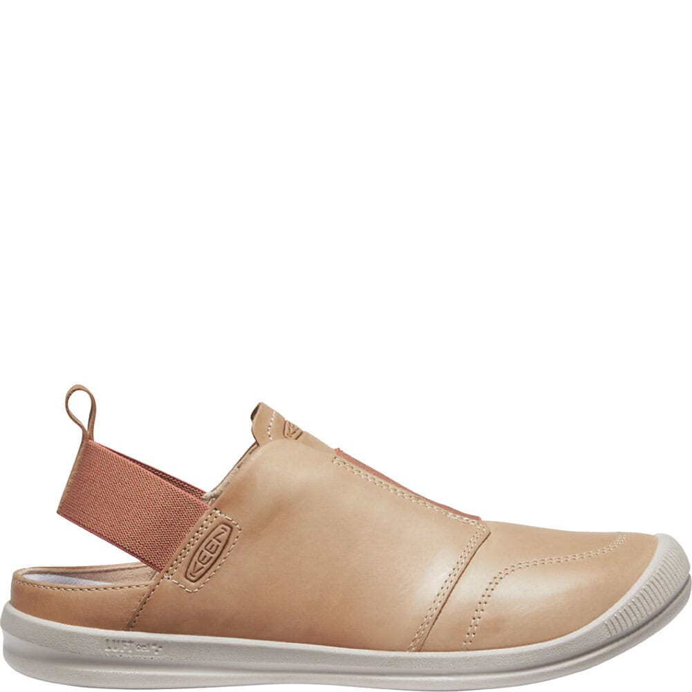 1024938 KEEN Women's Lorelai II Slip-On Sandals - Tan/Brick Dust