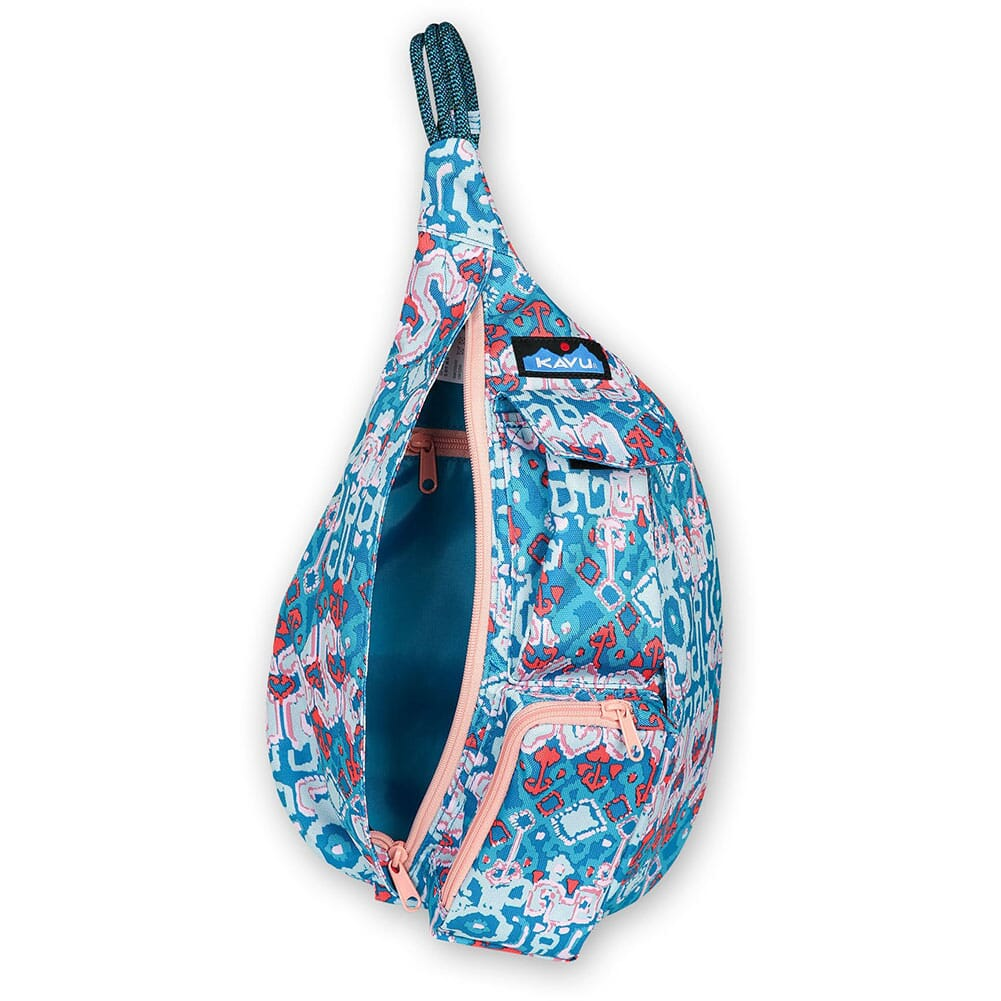 9191-1380 Kavu Mini Rope Sling Pack - Aqua Montage