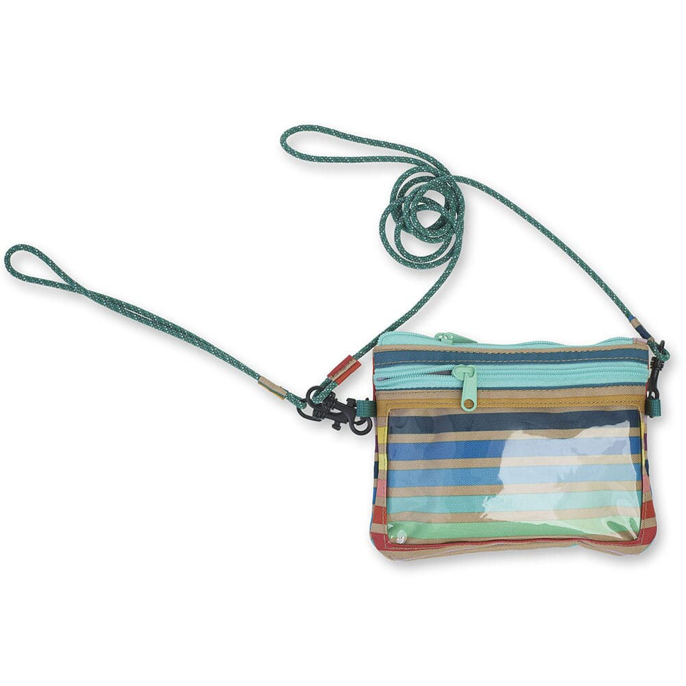 KAVU Women's Renrose Cross Body Wallet - Summer Stripe
