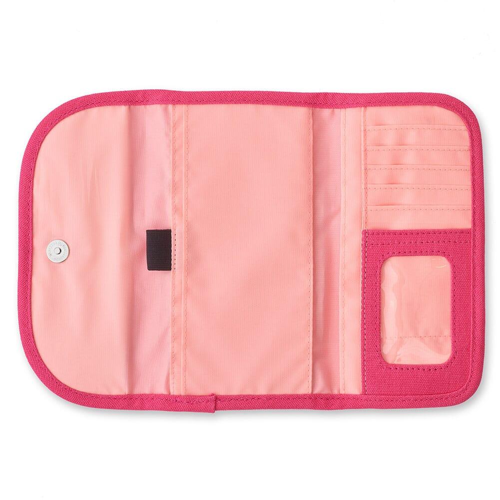 965-71 Kavu Women's Big Spender Tri-Fold Wallet - Magenta