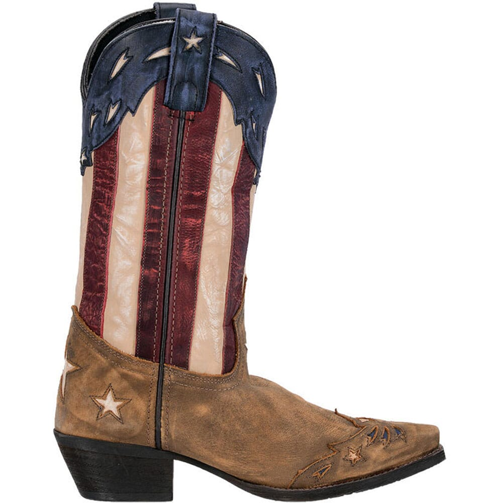 Laredo Women's Keyes Western Boots - Red/White/Blue