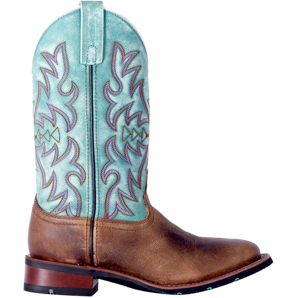 Laredo Women's Anita Western Boots - Blue/Brown