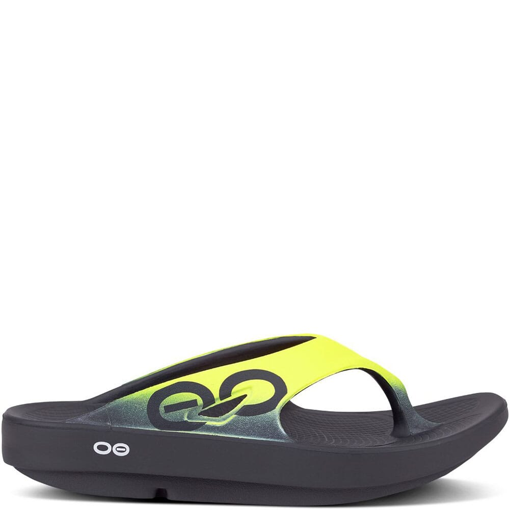 OOFOS Unisex OOriginal Sport Sandals - Black/Yellow