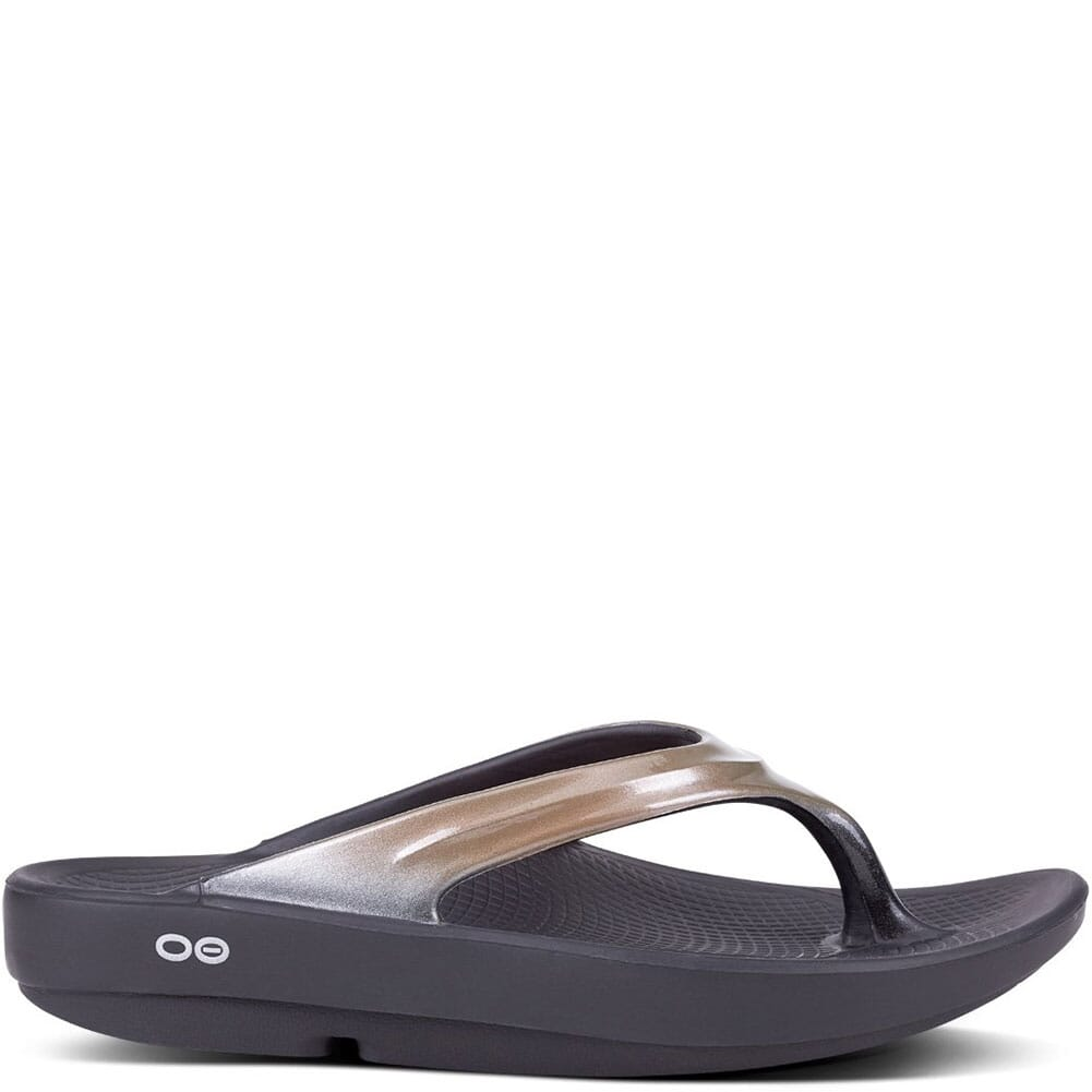 OOFOS Women's OOlala Sandals - Latte