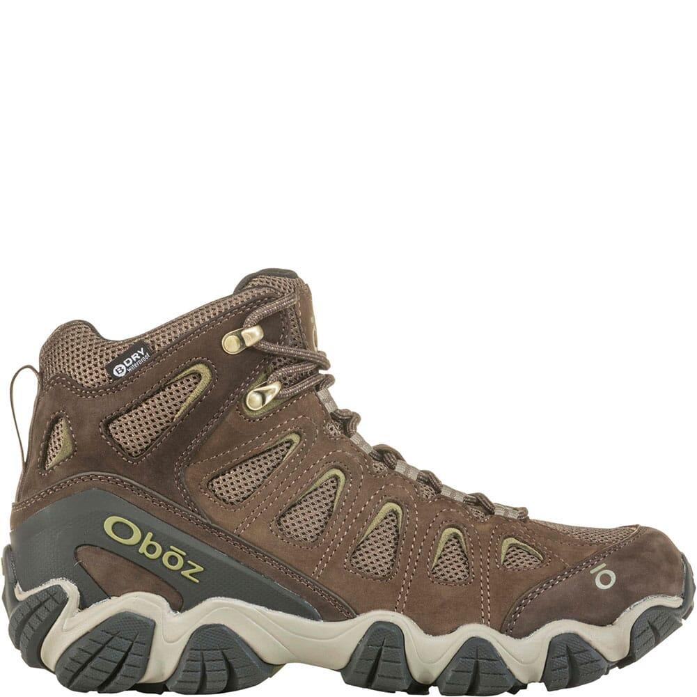OBOZ Men's Sawtooth II WP Hiking Boots - Canteen/Mayfly Green