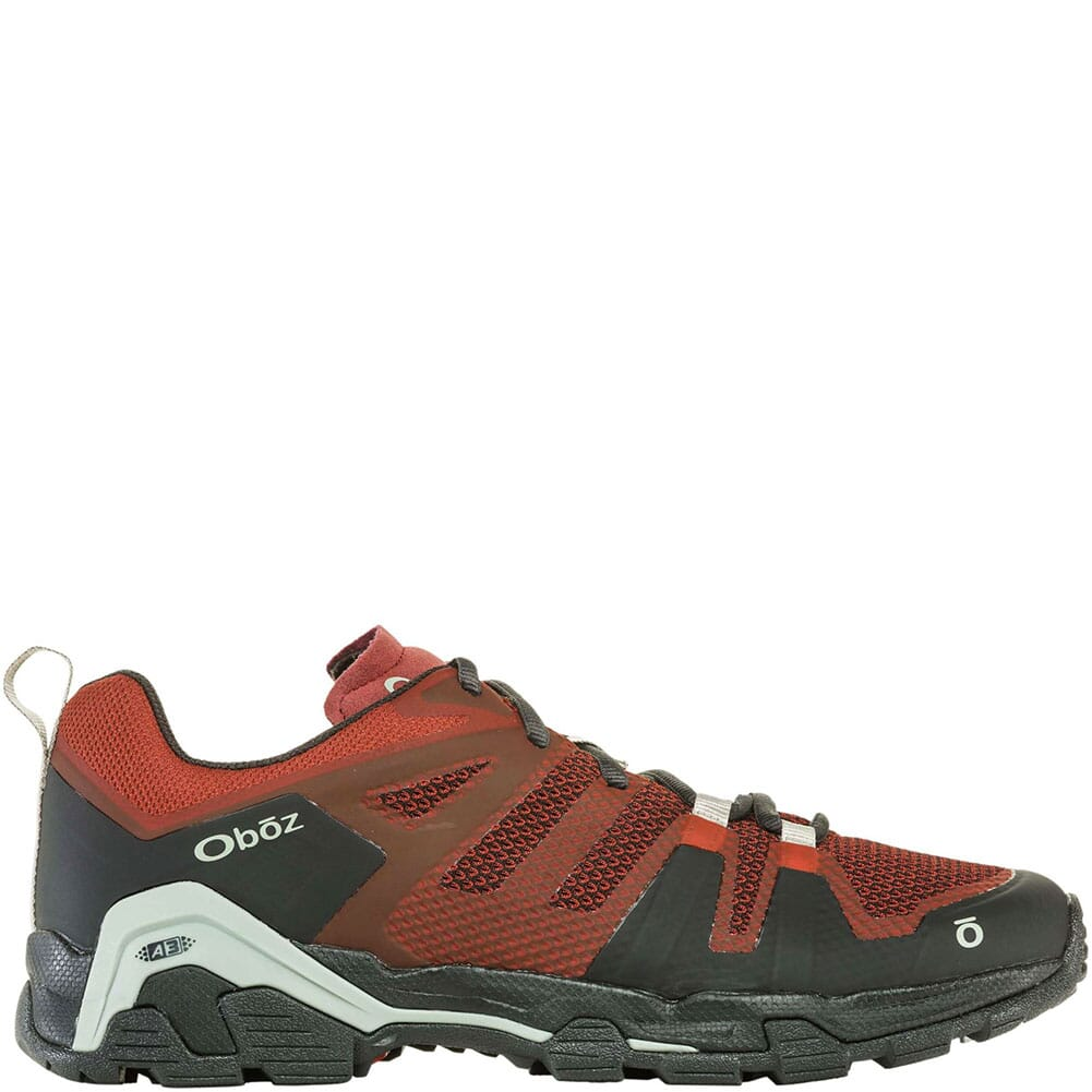 OBOZ Men's Arete Low Hiking Shoes - Rust