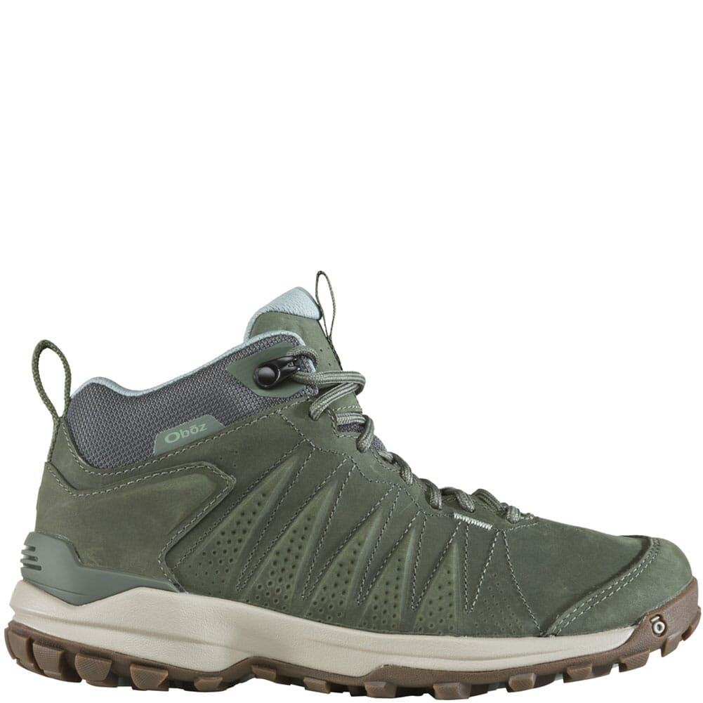 77102-THYME Oboz Women's Sypes Mid WP Hiking Boots - Thyme