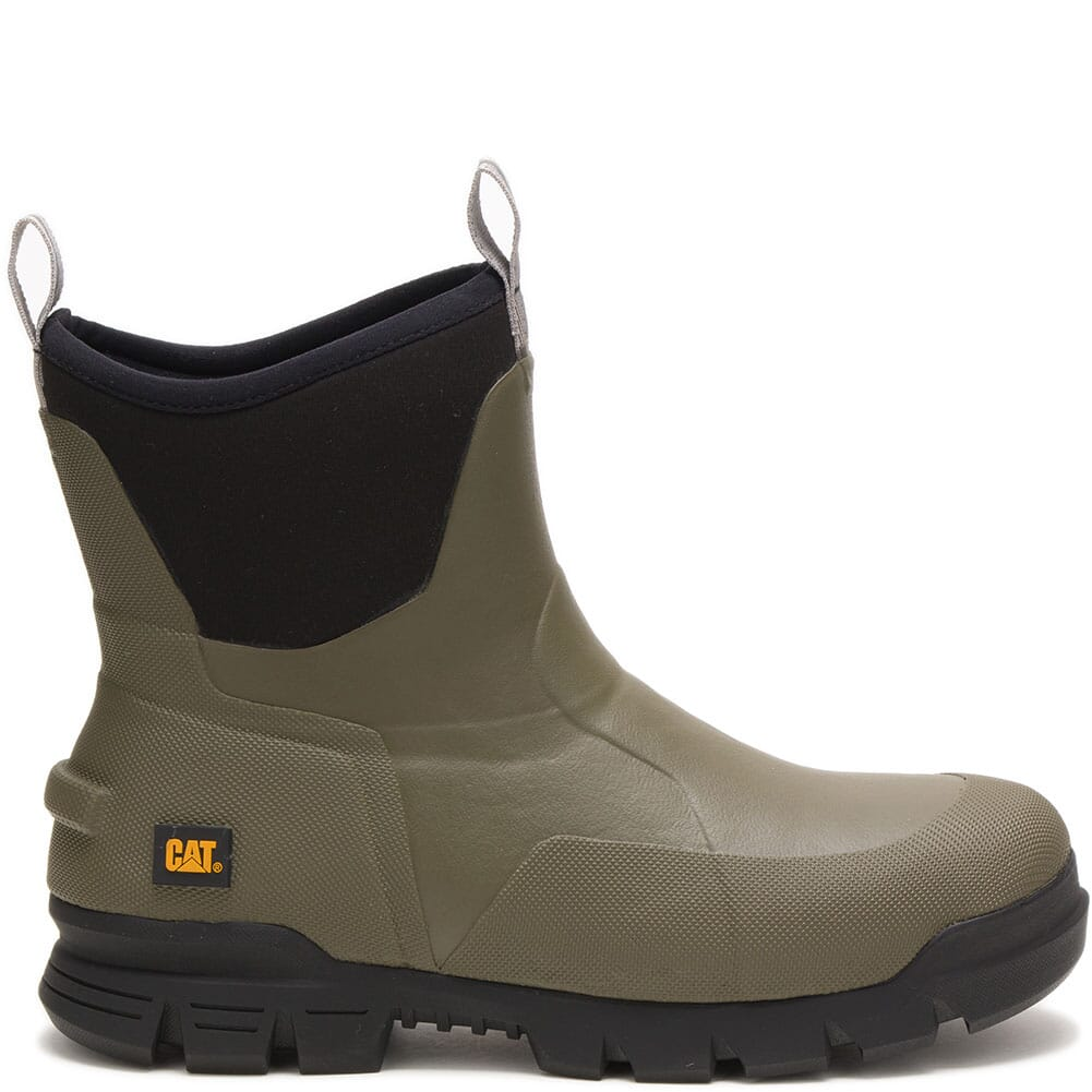 723954 Caterpillar Unisex Stormers Work Boots - Olive Night