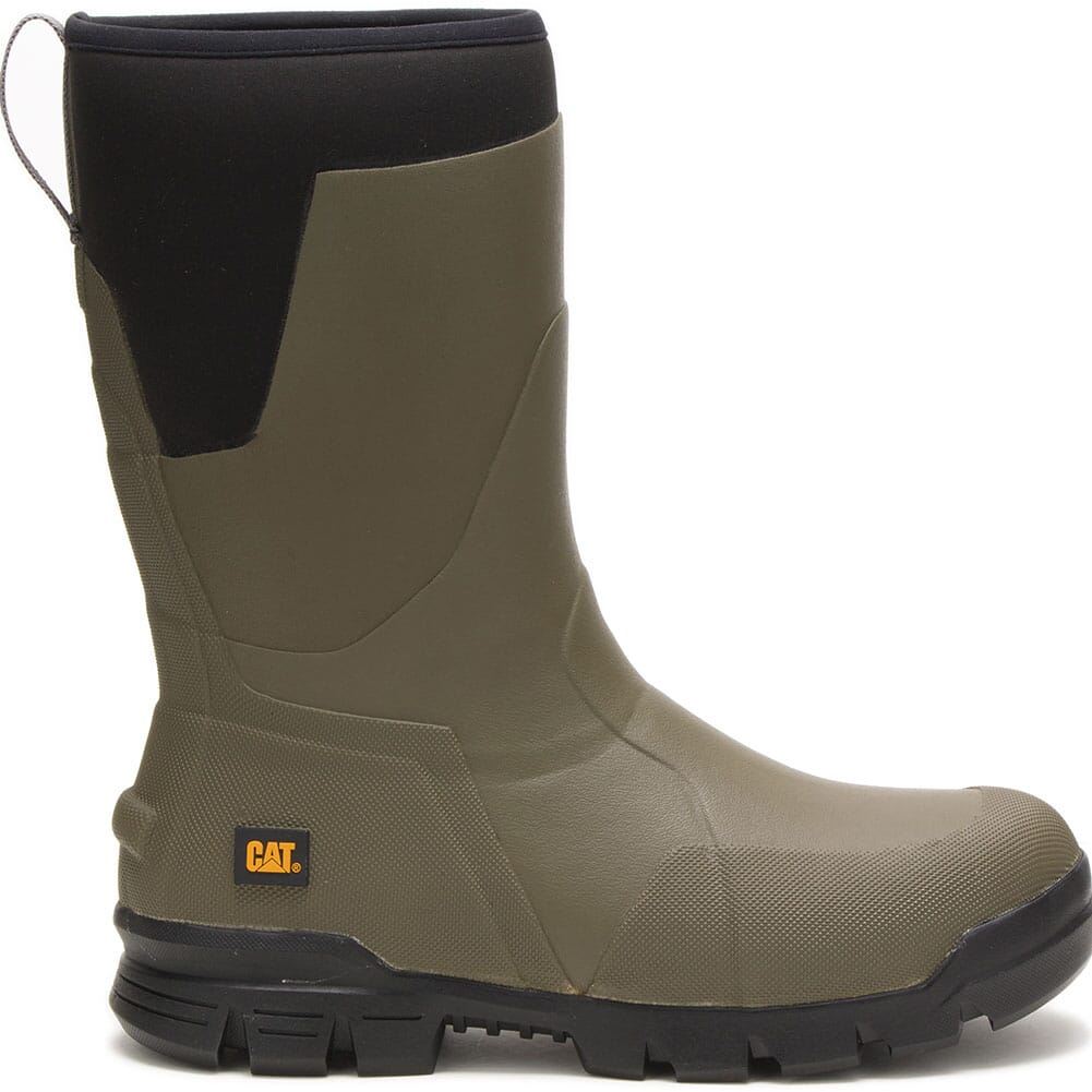 723962 Caterpillar Unisex Stormers Tall Work Boots - Olive Night