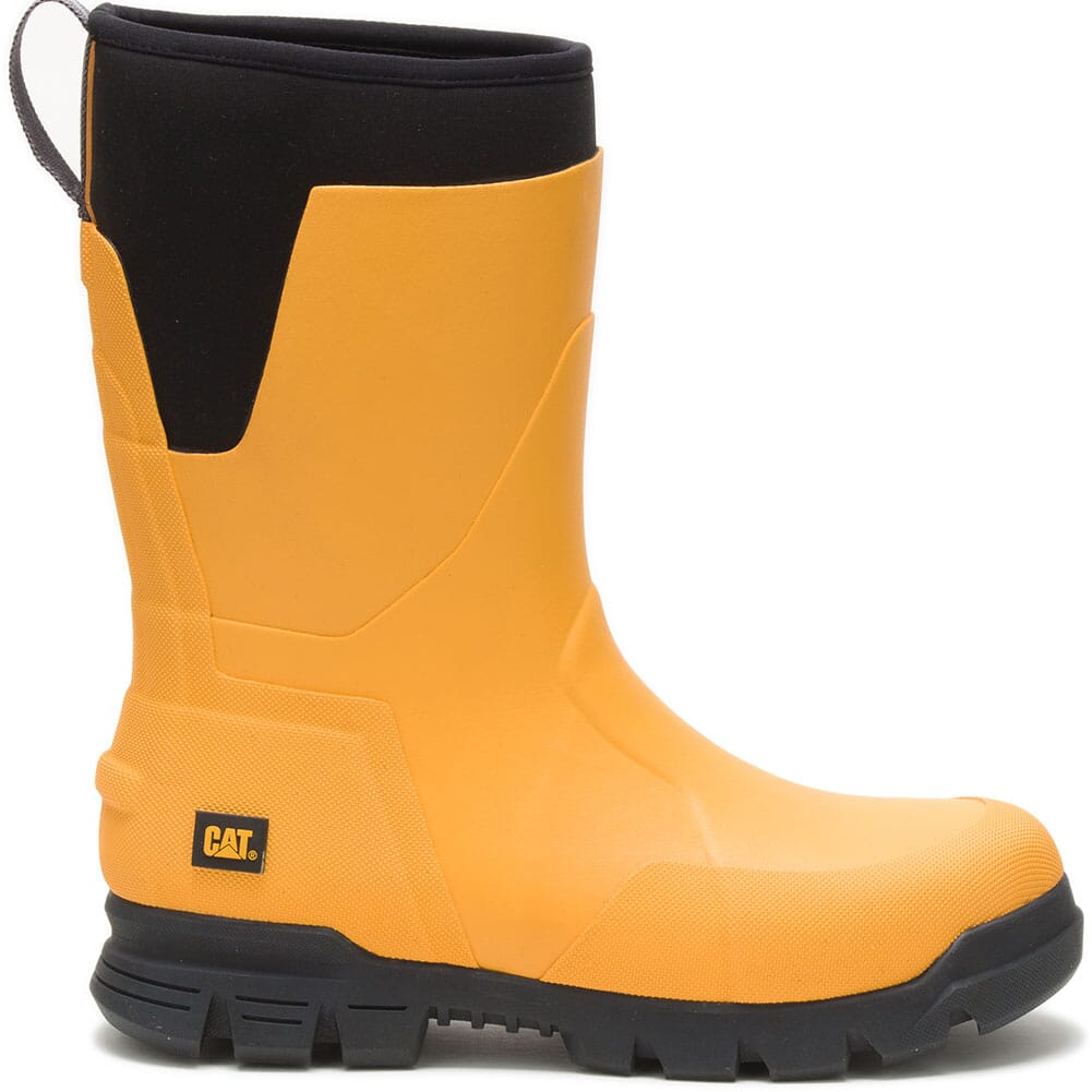 724051 Caterpillar Unisex Stormers Tall Work Boots - Cat Yellow