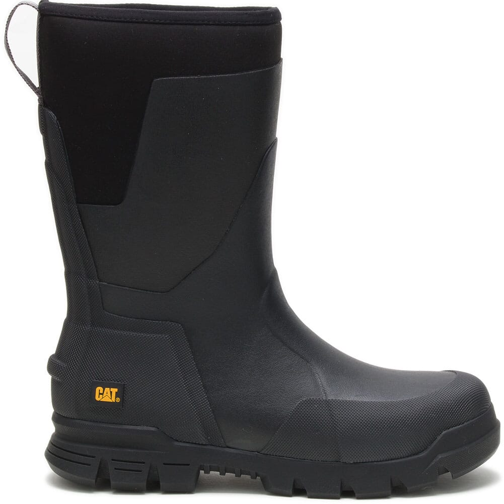 724105 Caterpillar Unisex Stormers Tall Work Boots - Black