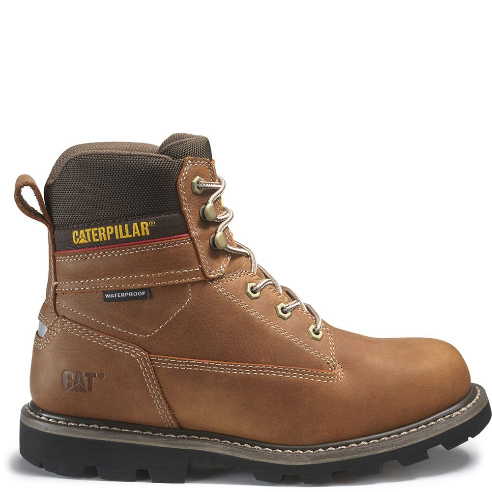 Caterpillar Men's Idaho WP Work Boots - Walnut