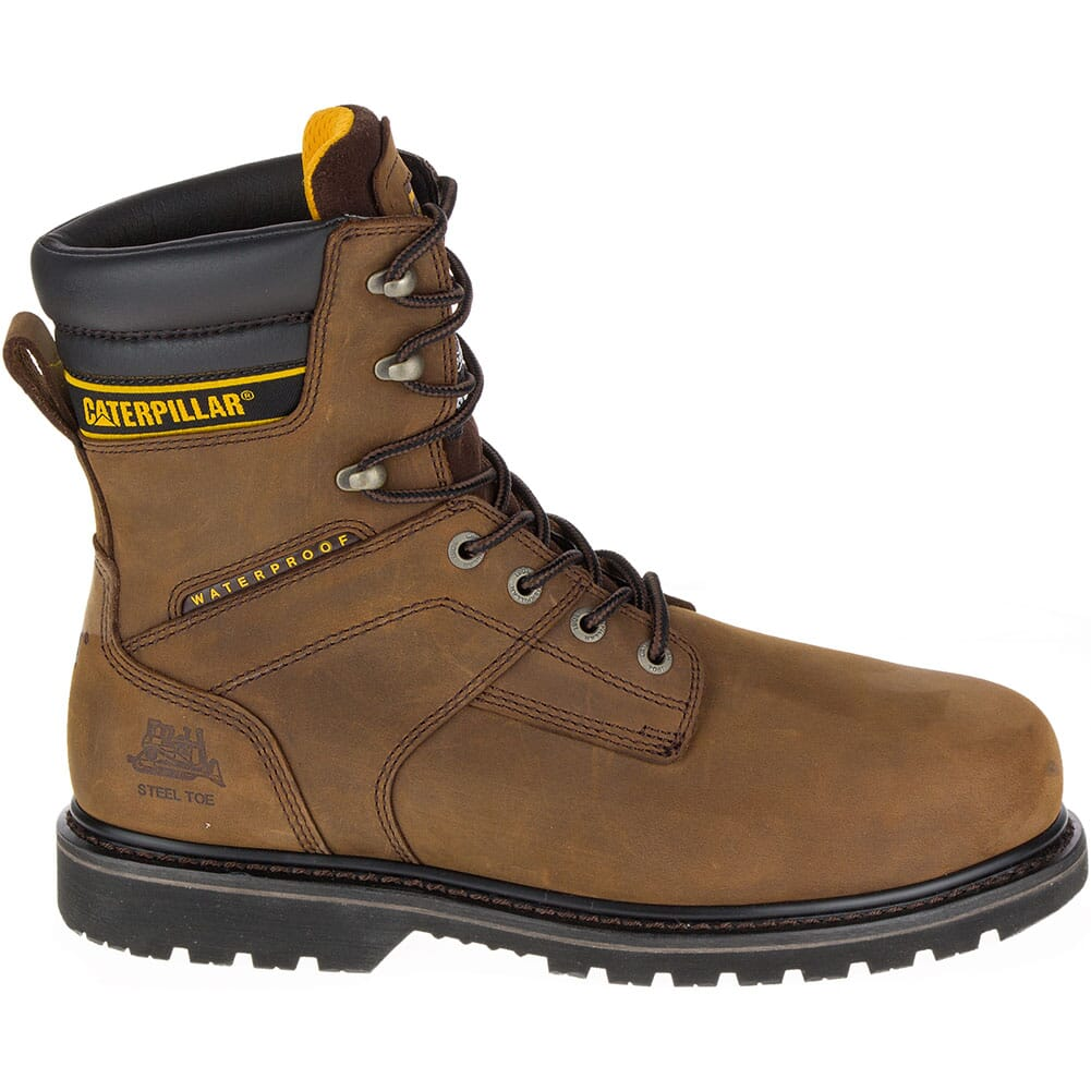 Caterpillar Men's Salvo Safety Boots - Brown