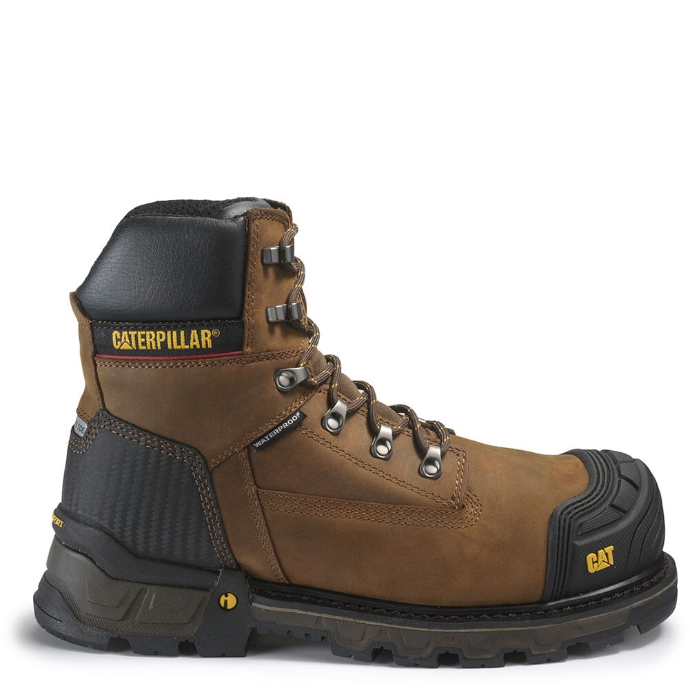 Caterpillar Men's Excavator XL Safety Boots - Brown