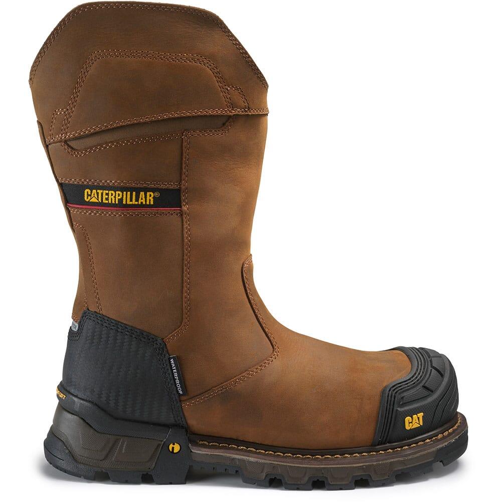 Caterpillar Men's Excavator XL Safety Boots - Dark Brown