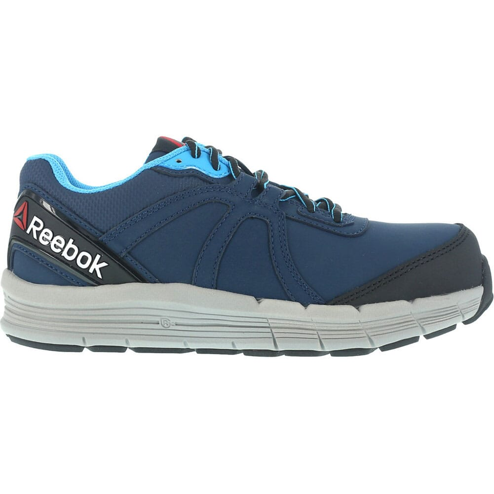 Reebok Women's Cross Trainer Safety Shoes - Navy/Light Blue
