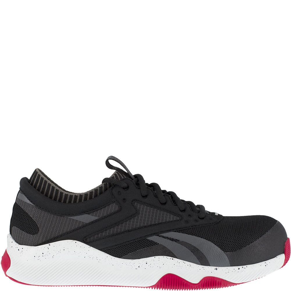 RB4080 Reebok Men's HIIT TR Safety Shoes - Black/Red