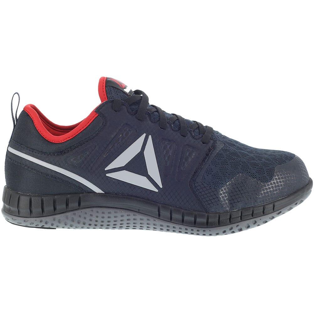 Reebok Men's ZPRINT EH Safety Shoes - Navy/Red/Gray