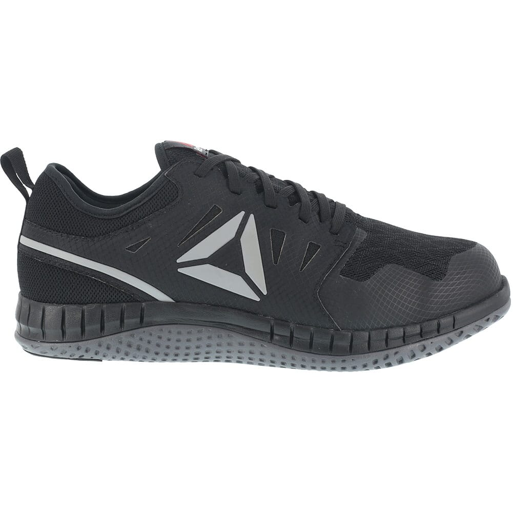 Reebok Men's ZPRINT SD Safety Shoes - Black/Dark Grey