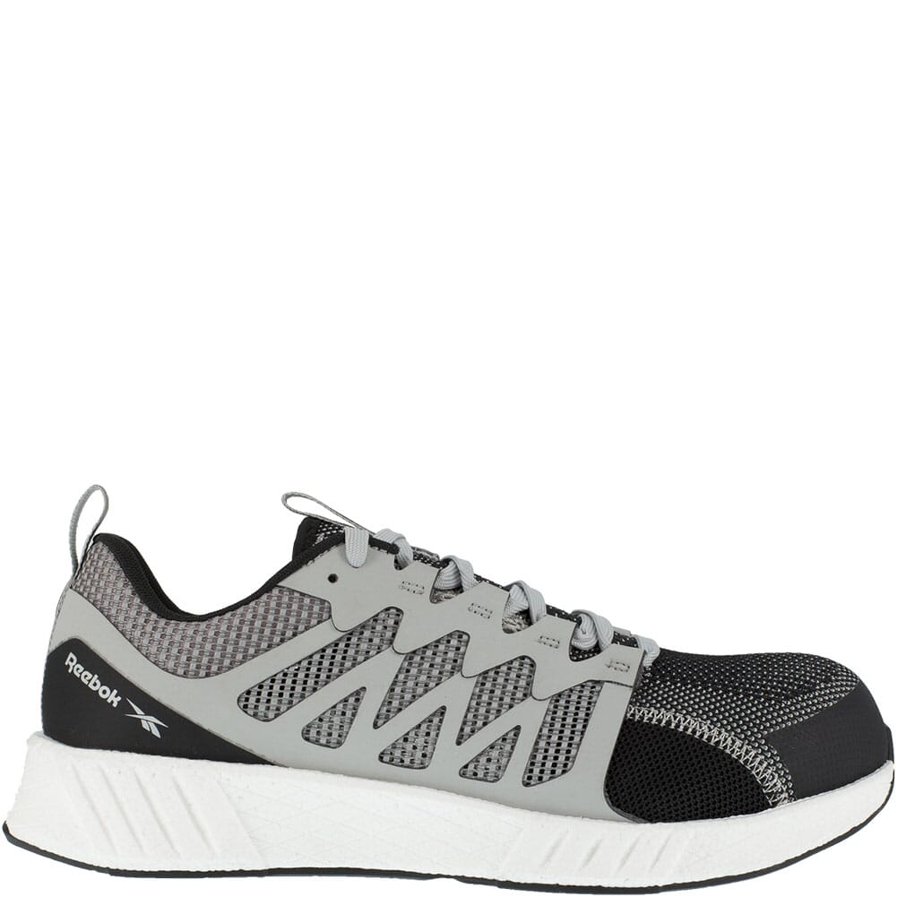 RB4312 Reebok Men's Fusion Flexweave Safety Shoes - Grey/White