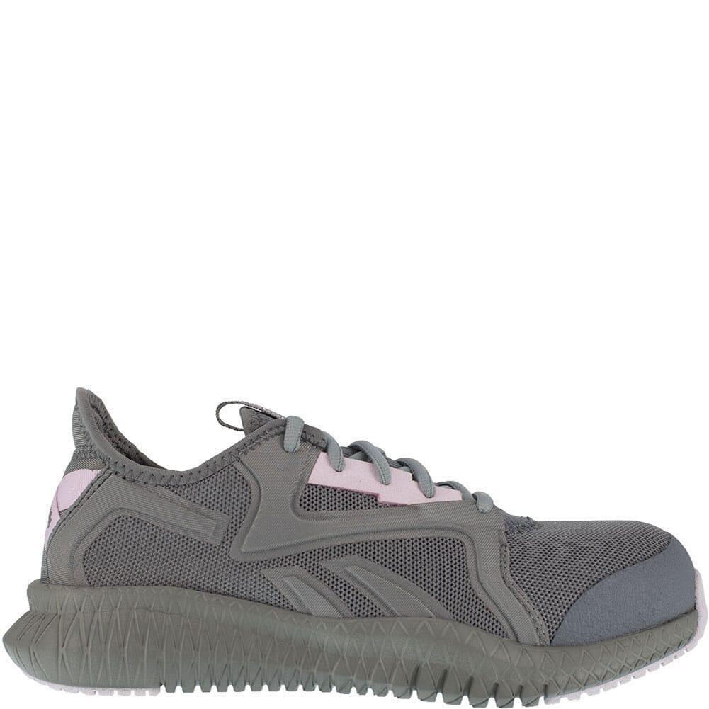 RB461 Reebok Women's Flexagon 3.0 Safety Shoes - Grey/Pink