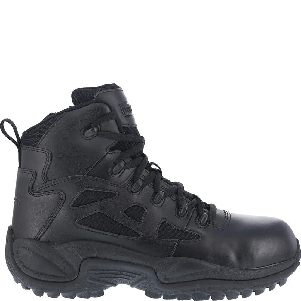 Reebok Men's Stealth Zipper Safety Boots - Black