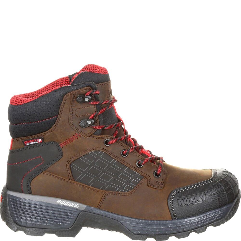 Rocky Men's Treadflex WP Safety Boots - Brown