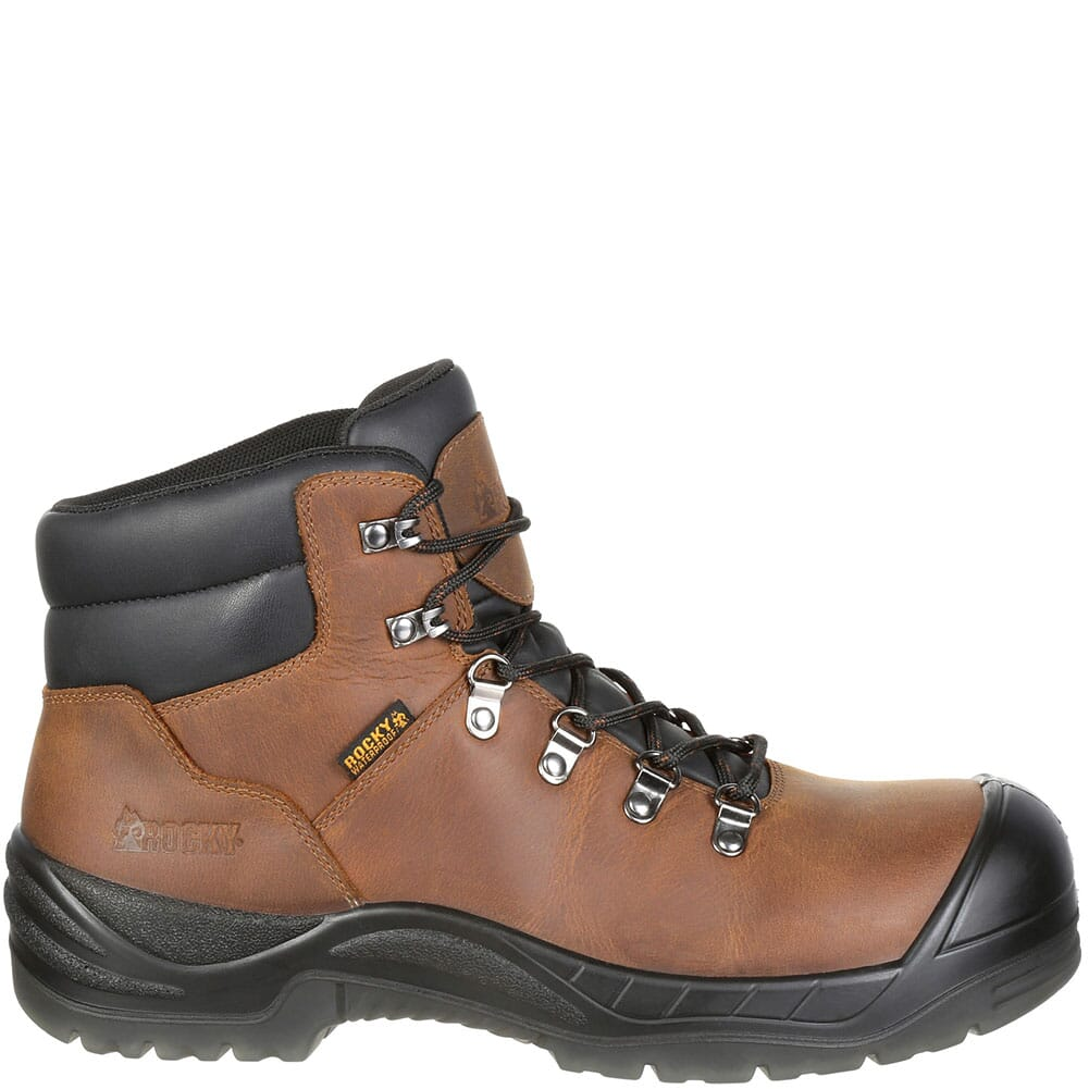Rocky Men's Worksmart WP Safety Boots - Brown