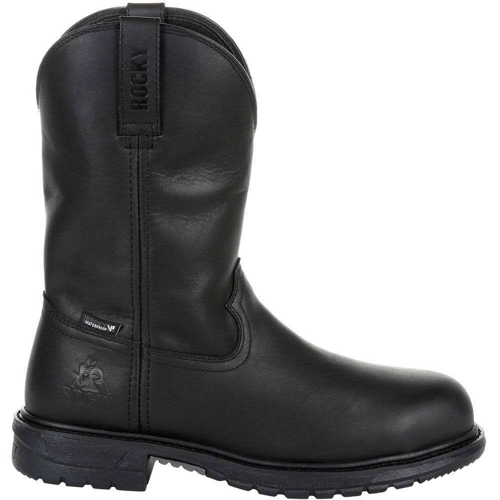 Rocky Men's Original Ride FLX WP Safety Boots - Black