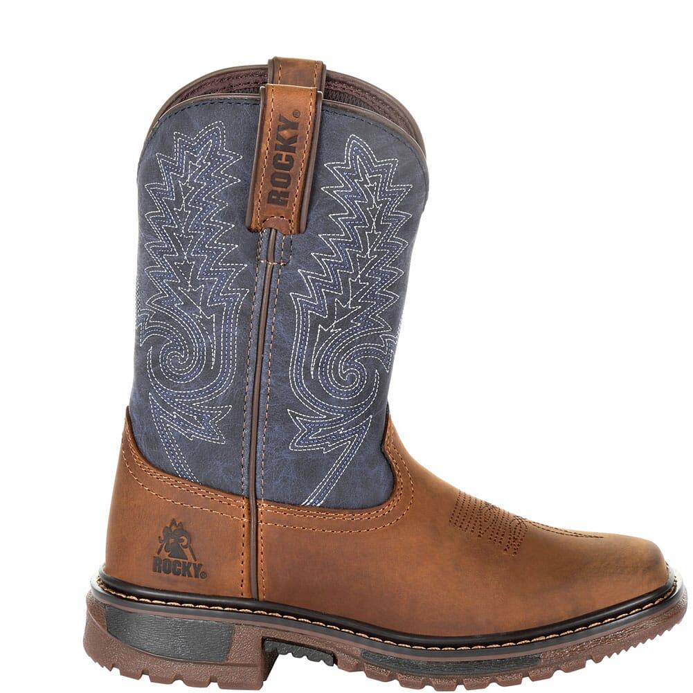 Rocky Big Kid's Ride FLX Western Boots - Denim Brown